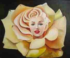 Velvet marilyn rose.