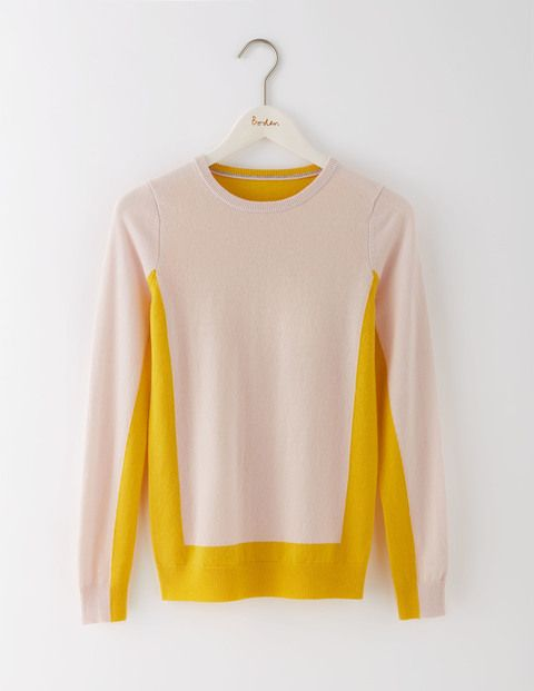 Cashmere Crew Neck Sweater WV016 Knitted Sweaters at Boden: