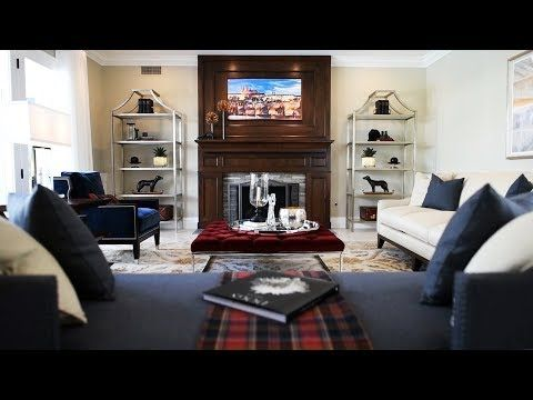 Ralph Lauren Inspired Living Room Interior Design Youtube