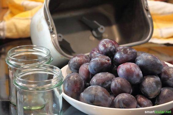 Pflaumenmus herstellen, während du etwas anderes machst? Mit unserem Rezept für den Backautomaten kocht sich dein Fruchtmus (fast) von selbst.
