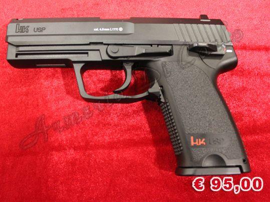 NUOVO A-0083 http://www.armiusate.it/armi-ad-aria-compressa-softair/pistole-co2-gas/nuovo-a-0083-umarex-heckler-koch-usp-calibro-4-5_i179203