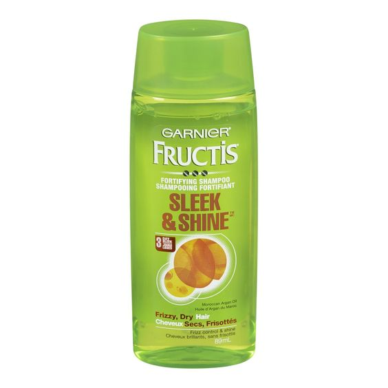 Garnier Fructis Sleek and Shine Fortifying Shampoo - 3.0 fl oz >>> Click on the image for additional details.
