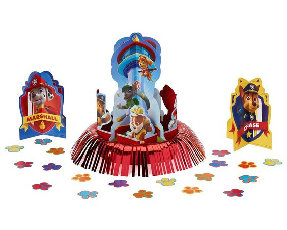 PAW Patrol Table Decorating Kit: Amazon.co.uk: Toys & Games