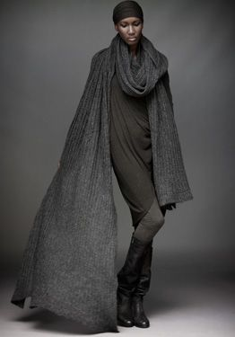 urban zen....cashmere that is literally light as air! I want one!!!!!!!!!!!!