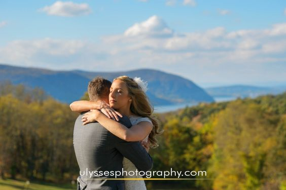 Stunning Hudson Valley views at @thegarrisonny - NY wedding photographers Ulysses Photography