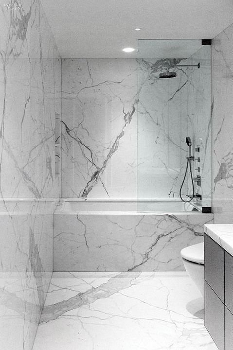 Moderndesignbathrooms Marmorfliesen Badezimmer Marmorbad Badezimmer