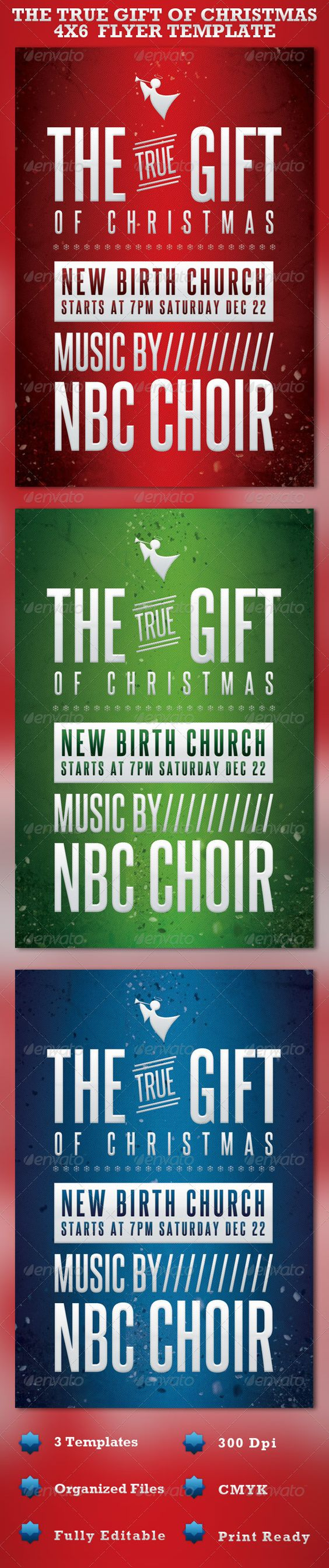 the gift of christmas church flyer template fonts flyer the gift of christmas church flyer template photoshop psd christmas flyers templates creative