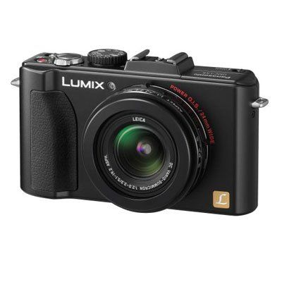 Panasonic Lumix DMC-LX5 10.1 MP Digital Camera with 3.8x Optical Image Stabilized Zoom and 3.0-Inch LCD - Black $324.98