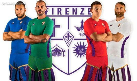 ACF Fiorentina 2018/19 le coq sportif Kits - FOOTBALL FASHION ...