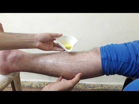 علاج الام وشد عضلات الساقين من اول جلسة