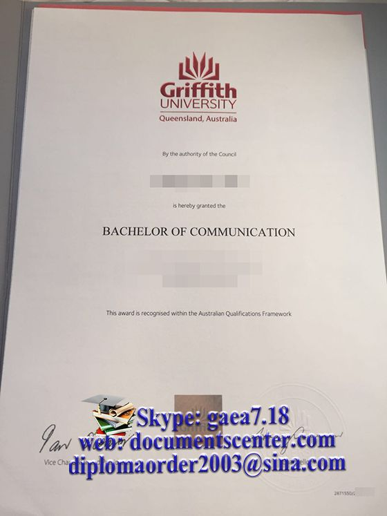 Griffith University degree, buy Griffith University diploma buy - sample graduation certificate