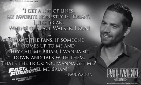 Paul Walker S Best Quote: Pinterest • The World's Catalog Of Ideas