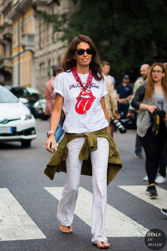 Viviana Volpicella Street Style Street Fashion Streetsnaps by STYLEDUMONDE Street Style Fashion Photography: