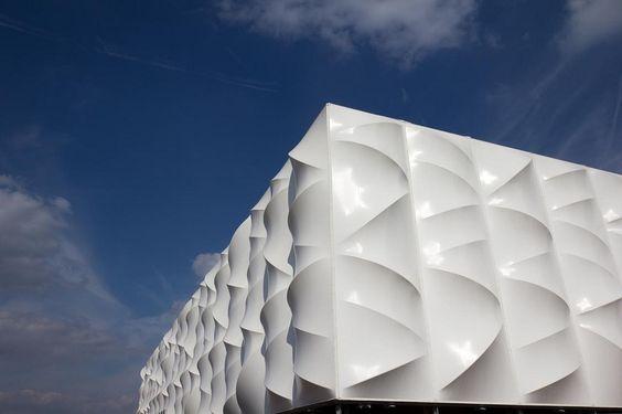 London Olympic basketball arena, by keith marshall, via flickr