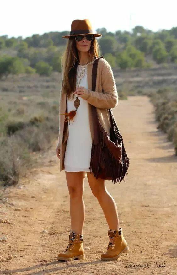robe femme timberland