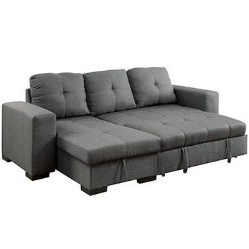 Sleeper Sectional Sofa For Small Spaces A Small Home Owner S Dream In 2020 Sofas For Small Spaces Couches For Small Spaces Sectional Sleeper Sofa