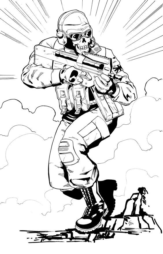 Call Of Duty Coloring Pages Best Coloring Pages For Kids Call Of Duty Coloring Pages Call Of Duty Black