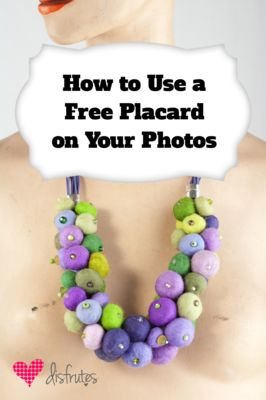 Add Fancy Photo Titles with Free Placards in GIMP