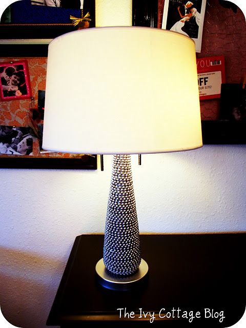 Love this lamp makeover!