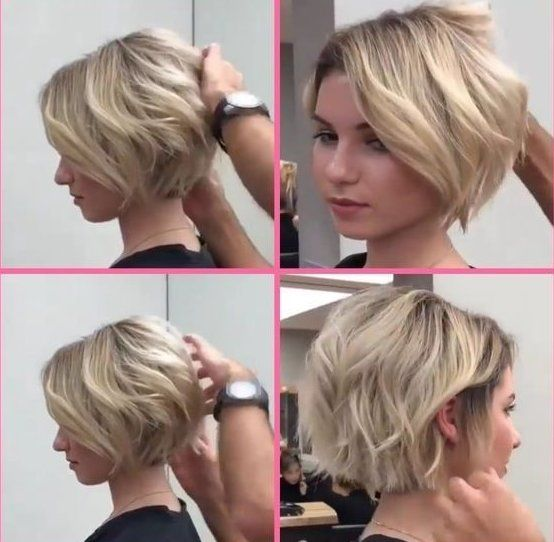 Short Bob Hairstyles 601582462701588998 Short Haircuts For Women With Ro In 2020 Thick Hair Styles Short Hairstyles For Thick Hair Short Hair Styles For Round Faces