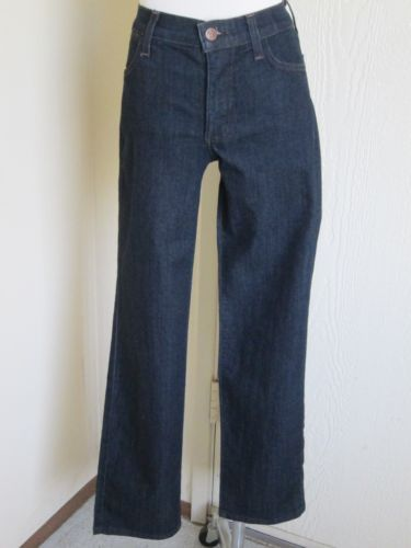 Not Your Daughter's Jeans NYDJ Sz 0P Petite Dark Blue Stretch Denim Jeans | eBay