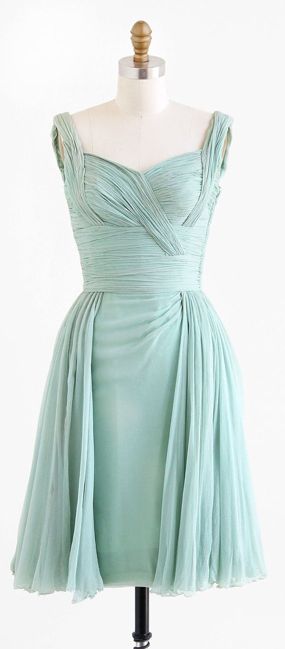 green silk mint green and 1960s on pinterest