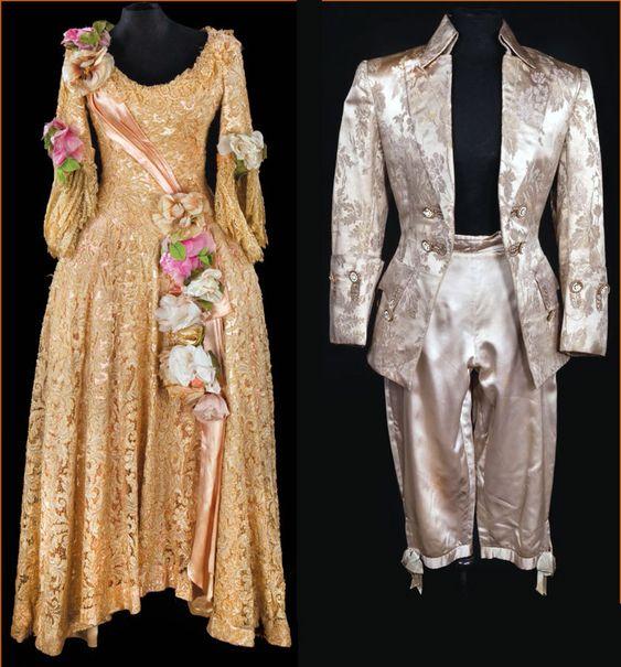 quotdancing cavalierquot costumes from quotsingin in the rain