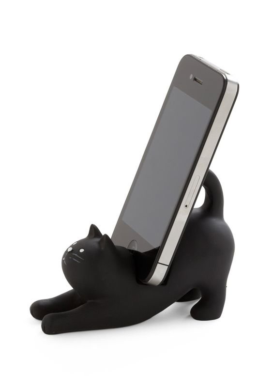 kitty-cat phone stand