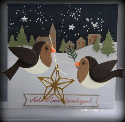 My Cardcreations: Hele mooie kerstdagen!