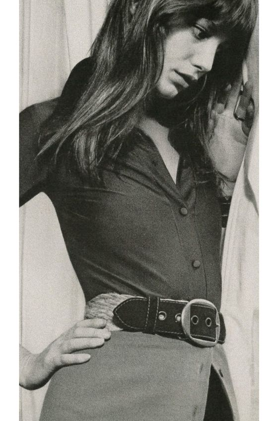 Jane Birkin by Patrick Litchfield, 1971.