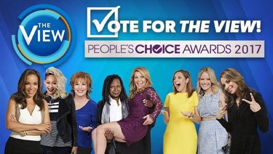 peopleschoice : RT TheView: We're honored to be nominated for a peopleschoice award! Help  https://t.co/Eyq2xr9rZS) https://t.co/4dsQlMUUXR