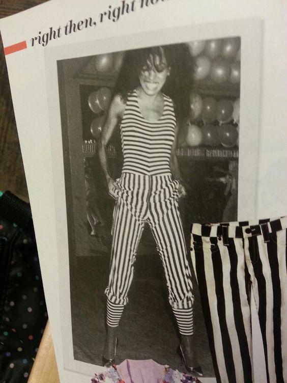 Stripes Diana Ross