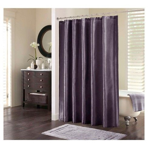 This Is The Perfect Solid Shower Curtain For Any Bathroom The