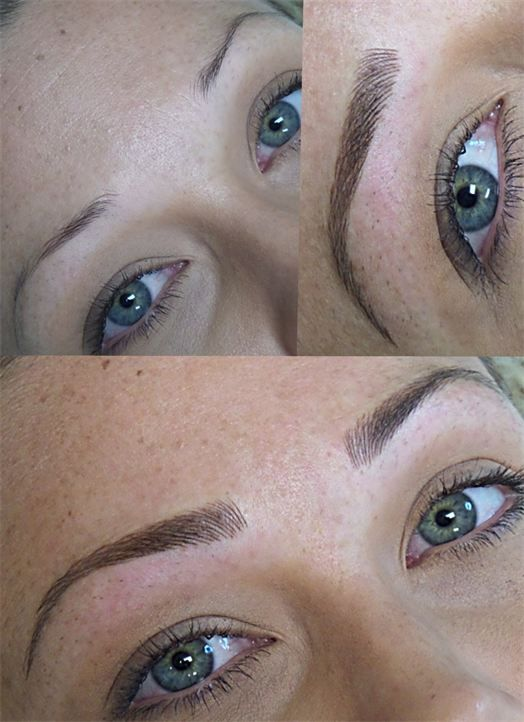 Naturalines permanent makeup brow gallery tampa fl for Tattooed eyebrows pictures