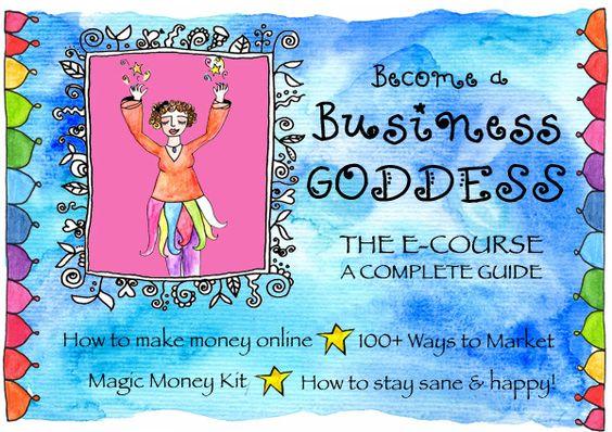 Business Goddess e-course