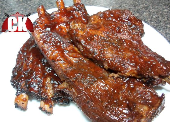 Slow cooker bbq ribs, Easy cooking and Bbq ribs on Pinterest