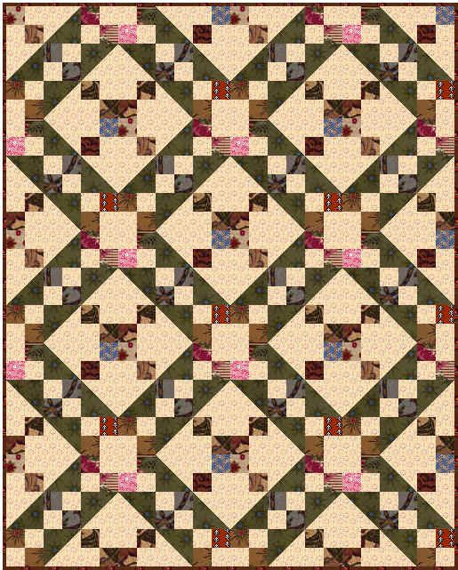 Quilt Patterns Slaves Used : Quilt Block Patterns The Symbolism of Underground Railroad quilts Underground Railroad ...