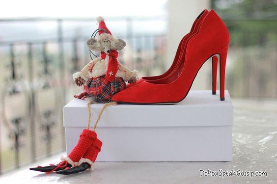 New in - Sante shoes red pumps - DoYouSpeakGossip.com