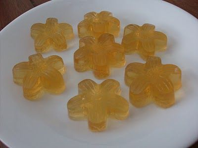Homemade fruit snacks with thawed 100% juice concentrate and unflavored gelatin.