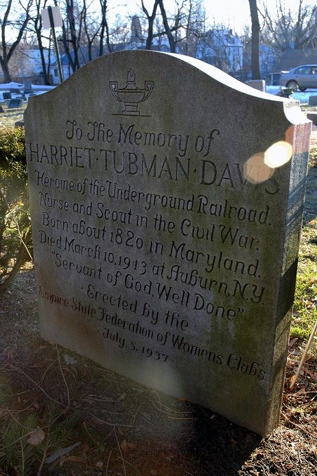 "Harriet Tubman Davis.   Fort Hill Cemetery (Auburn, NY) ""West Lawn C"""