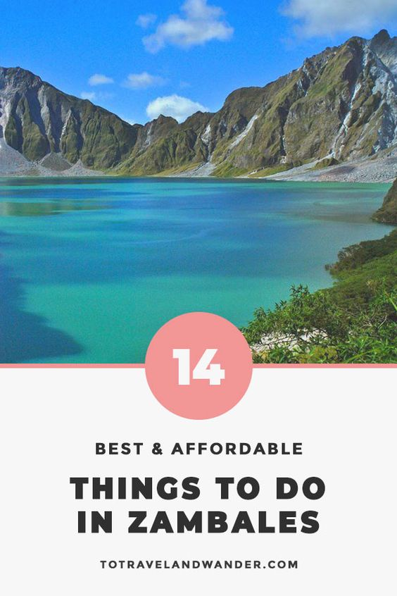 14 Affordable Things To-Do in Zambales