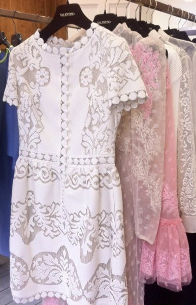 valentino ...the lace obsession continues.