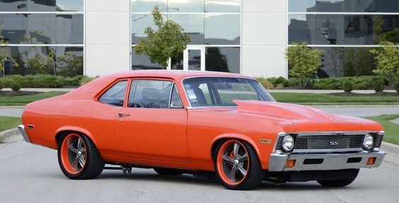 "1972 Chevrolet Nova Custom 2 Door Coupe -- 6.0 Liter LSX iron block with a F1A ProCharger, 1000hp at the crank and 850hp to the rear wheels and a 6-speed manual transmission. Full roll cage, adjustable coilover suspension front and rear, tubular control arms, DSE mini tubs, CCP Hydroboast brake booster, power steering, 4-wheel disc brakes, Covans dash with custom gauges and 18"" powdercoated wheels with matching paint of car. Stage 3 Patriot heads and 12-rib blower set-up with 20psi of boost."