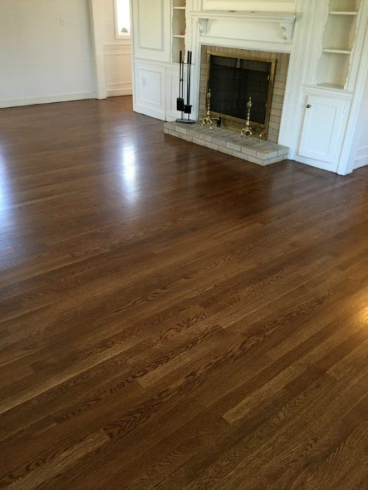 Provincial Stain By Bona Why It S A Better Choice Than Jocobean Or Dark Walnut With Images White Oak Hardwood Floors Wood Floor Colors Wood Floor Stain Colors