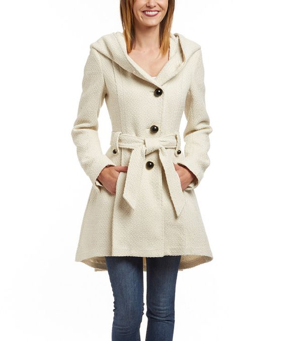 White Coat With Hood