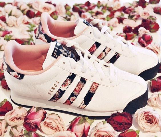 Adidas Shoes Women Floral