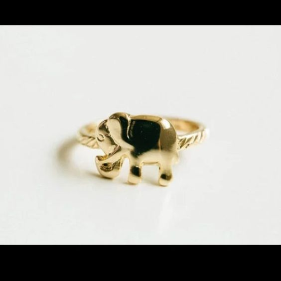 1pc Cute Gold Elephant Ring 18K Gold Plated. Brand new. Size 6.5. Browse my closet to see more rings. Jewelry Rings