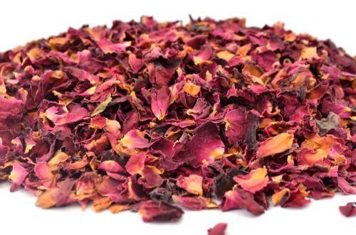 Damascus Rose Petals Candle Soap Confetti Petals Dried Flowers Tea Bath Bomb