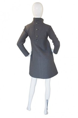 1960s Haute Couture Jean Patou Dress
