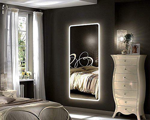 Hans Alice Large Rectangular Bathroom Mirror Wall Mounted Wooden Frame Vanity Mirror Homedecor Decor Mirror Wall Bedroom Bedroom Flooring Bedroom Mirror